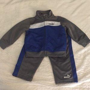 Puma 12m Matching Set Track Suit